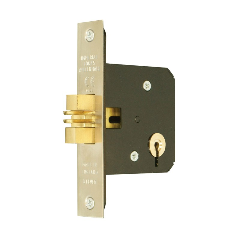 Master Keyed 3 Lever Mortice Sliding Door Lock