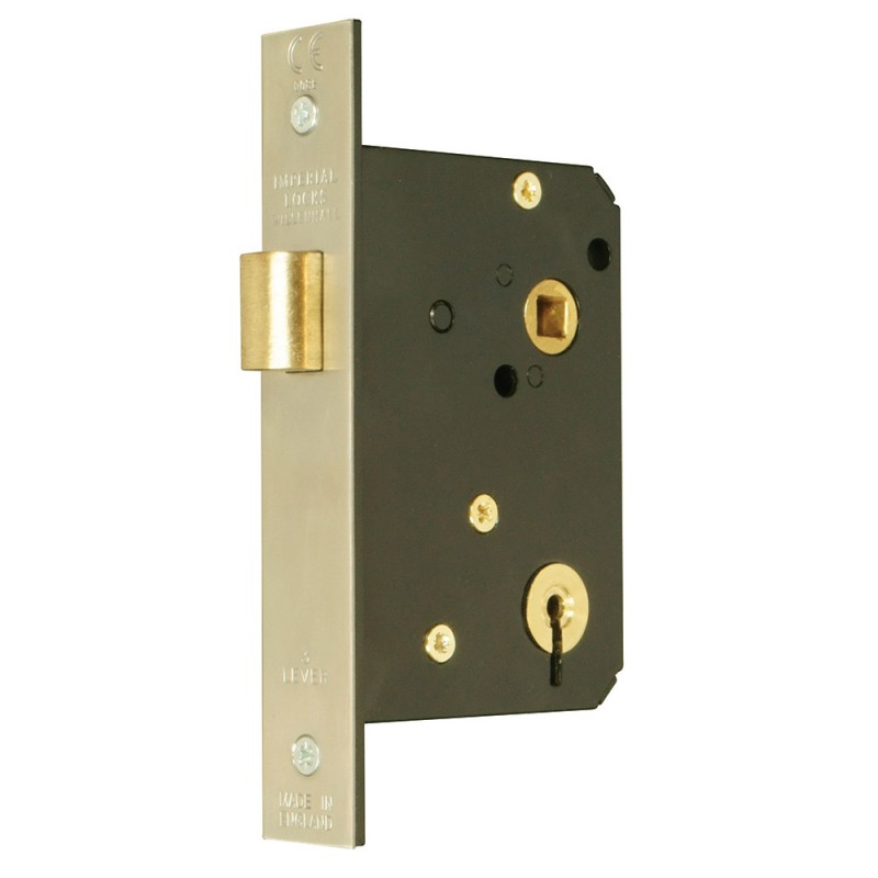 Master Keyed 3 Lever Mortice Night Latch