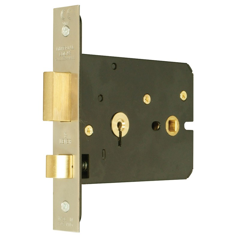 Master Keyed 3 Lever Horizontal Mortice Lock