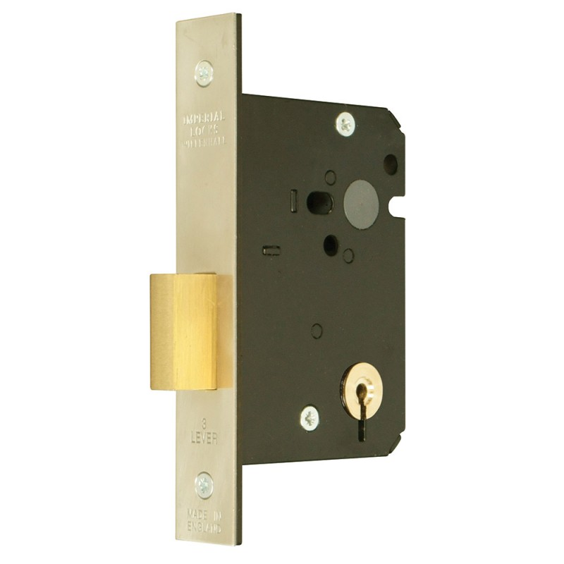 Master Keyed 3 Lever Mortice Deadlock