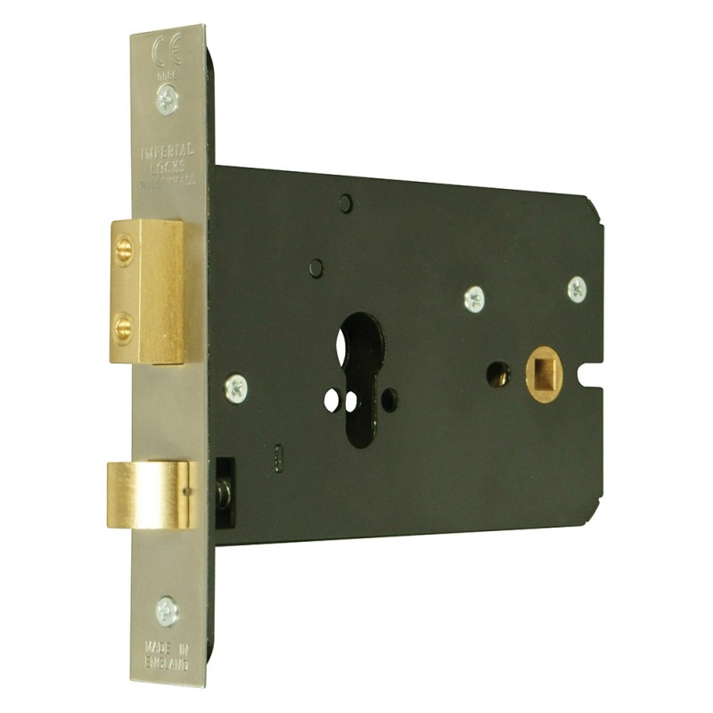 Euro-Profile Cylinder Horizontal Mortice Night Latch