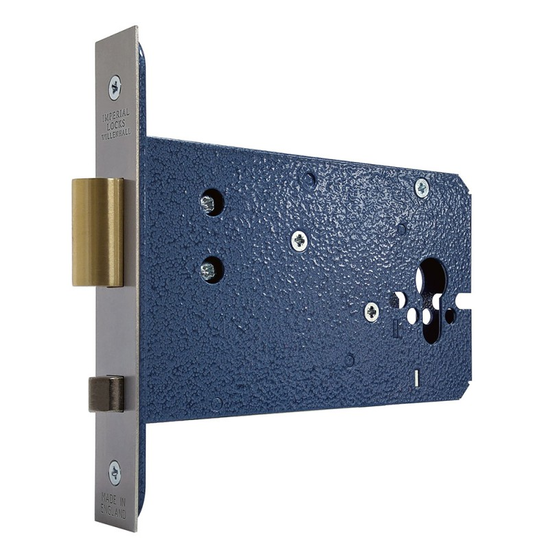 Euro-Profile Horizontal Mortice Auto Deadlocking Slam Lock