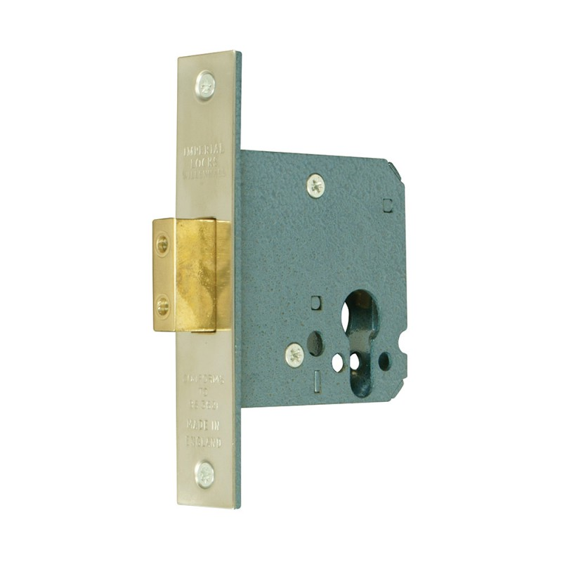 Conforms to BS3621:1998 Euro-Profile Cylinder Mortice Deadlock
