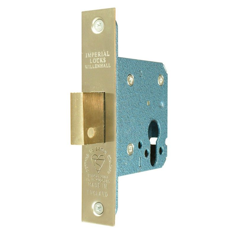 BS3621 British Standard Euro-Profile Cylinder Mortice Deadlock