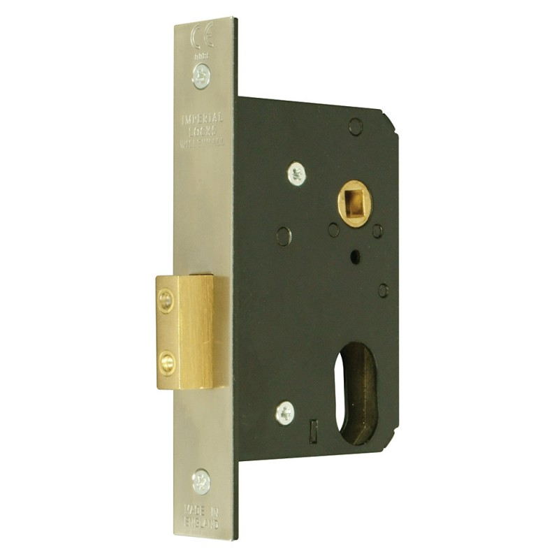 Oval-Profile Cylinder Mortice Escape Deadlock