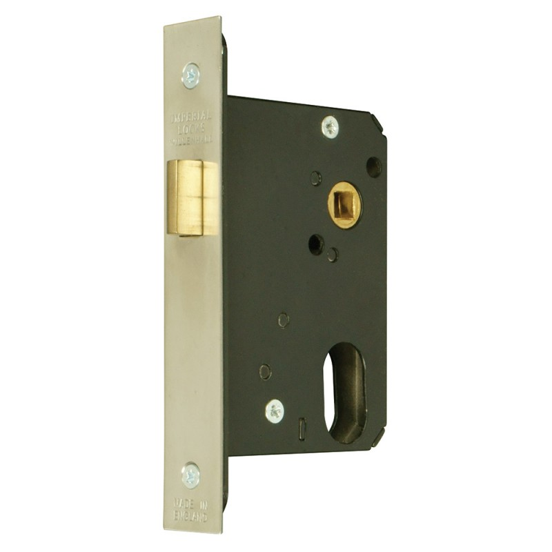 Oval-Profile Cylinder Mortice Night Latch