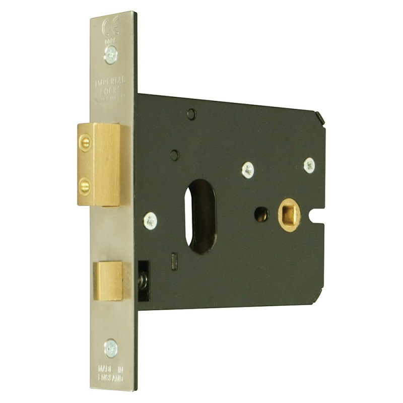 Oval-Profile Cylinder Horizontal Mortice Lock