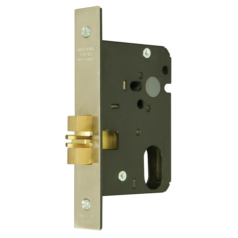 Oval-Profile Cylinder Mortice Sliding Door Lock